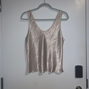 Tops - Silk Tank Top